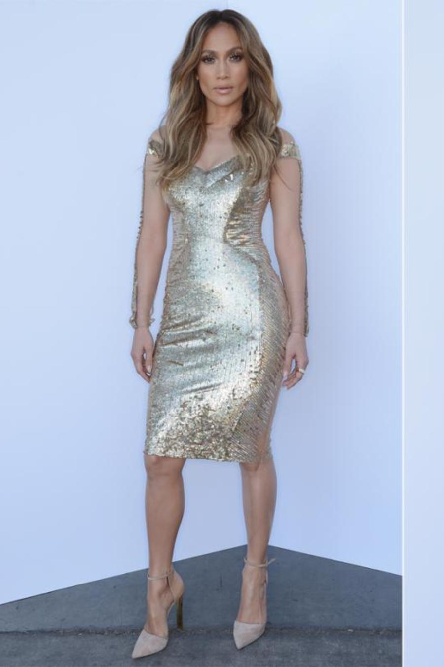 Jennifer Lopez American Idol look