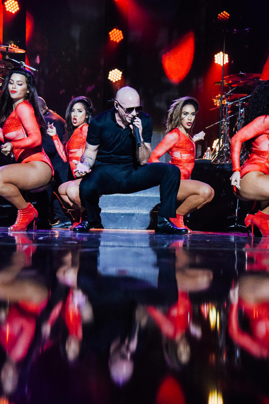 Pitbull iHeartRadio Fiesta Latina Presented By Sprint - Show