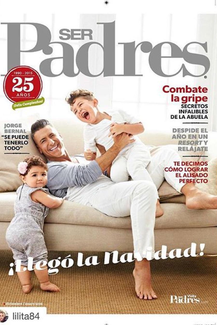 Jorge Bernal nos muestra porque disfruta cada instante el ser padre de estos dos niños.