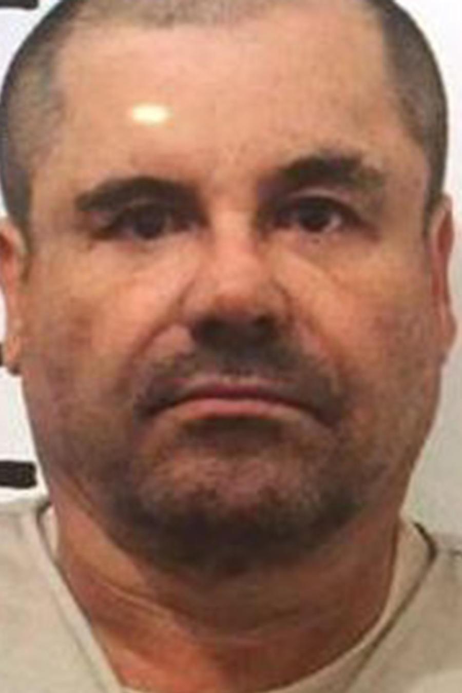 Foto de fichaje de 'El Chapo' Guzmán tras su recaptura el 8 de Enero del 2016