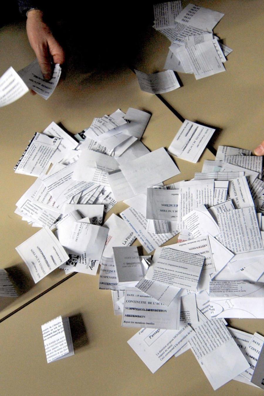 Contando votos