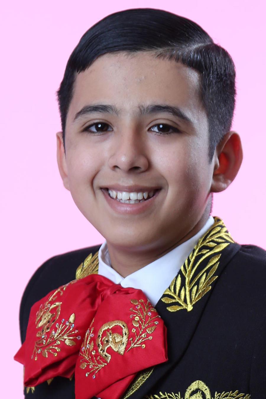 Tristan Ramirez del Team Pedro en La Voz Kids