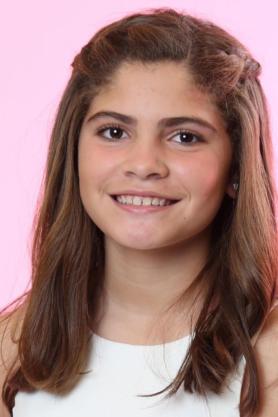 Valeria Aviles del Team Yankee en La Voz Kids