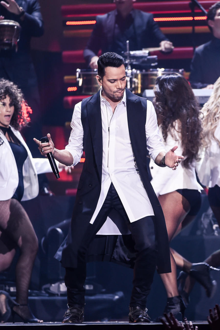 Victor Manuelle Yandel Premios Billboard 2016