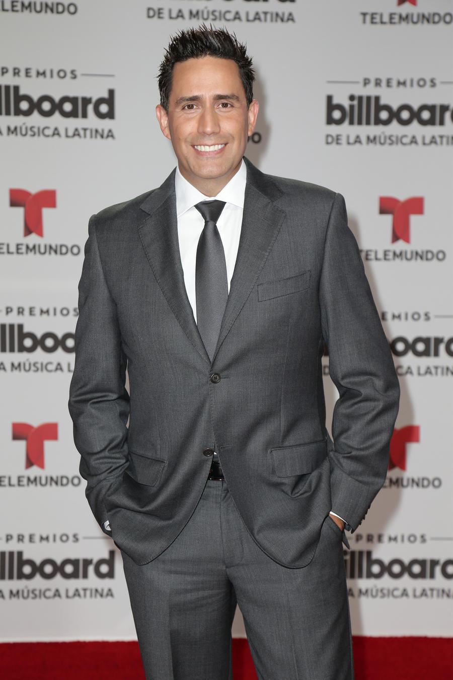 Camilo Montoya en la alfombra roja de los Premios Billboard 2016