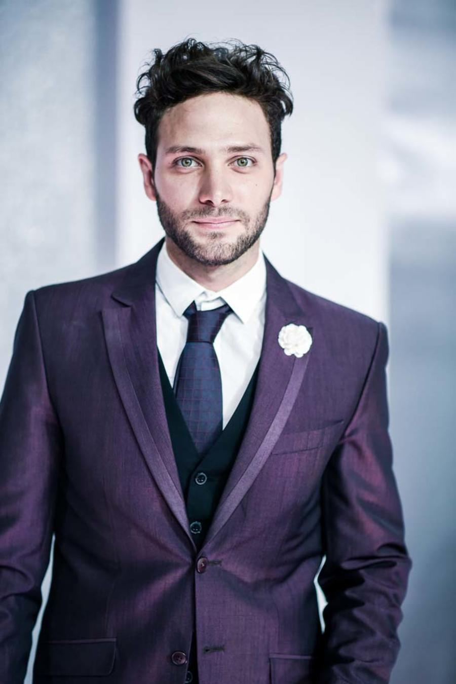 Gabriel Coronel en la alfombra roja de los Premios Billboard 2016