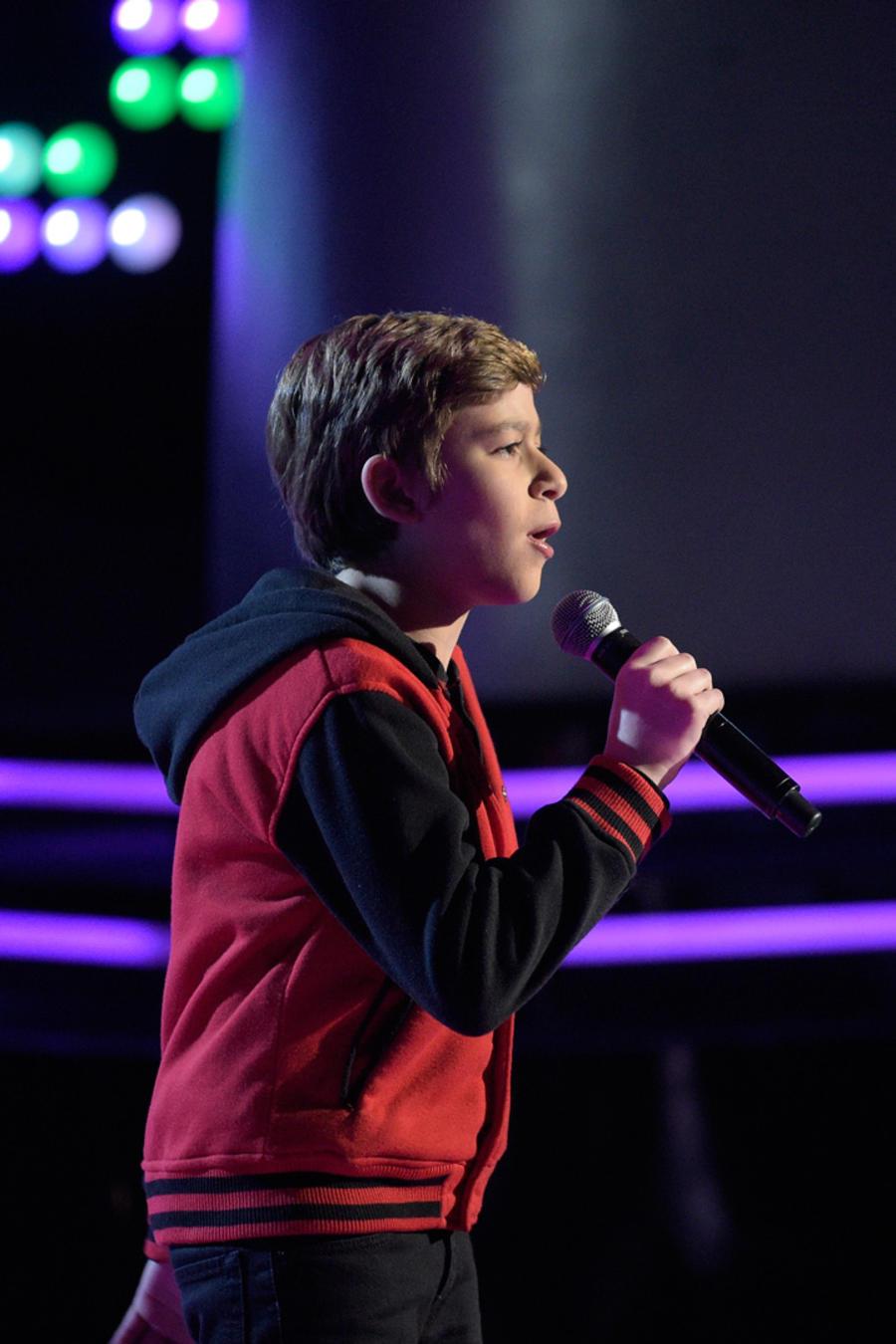Daniel audición a ciegas La Voz Kids 2016