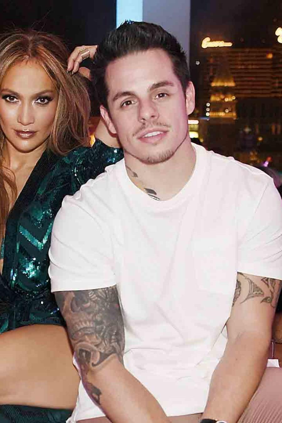 Jennifer Lopez y Casper Smart celebraron el cumpleaños de JLo en Caesar's Palace