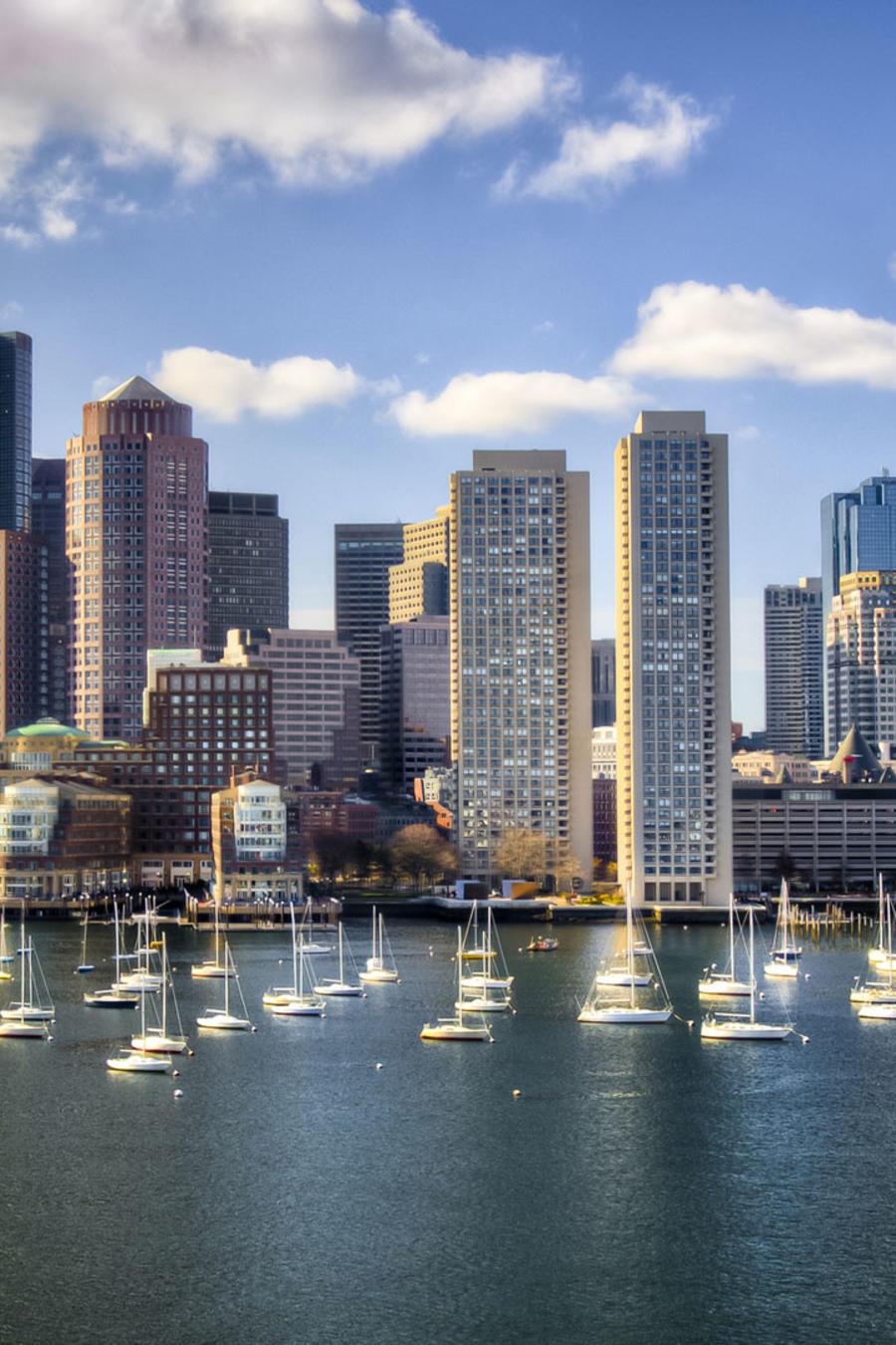Panorámica ciudad de Boston
