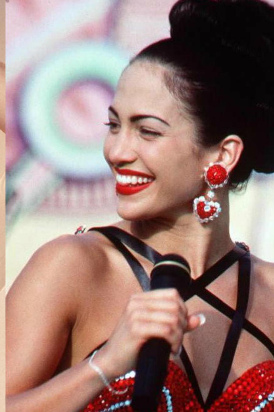 Selena Quintanilla y Jennifer Lopez
