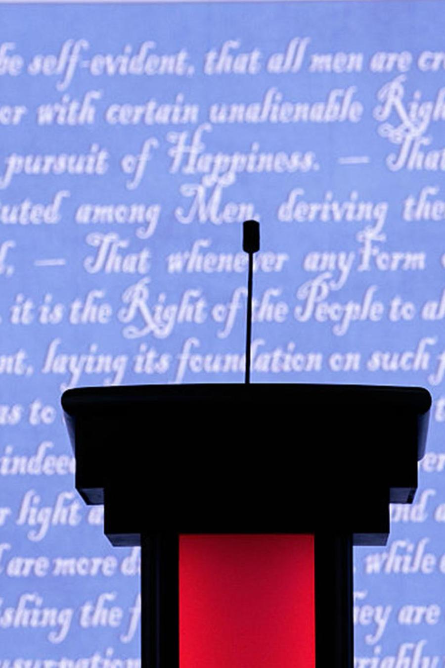 Hofstra University Prepares To Host First Presidential Debate Of 2016 Election