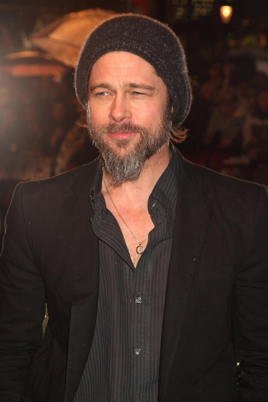 "Brad Pitt en premiere de ""Kick Ass"" en Londres, marzo 2010"