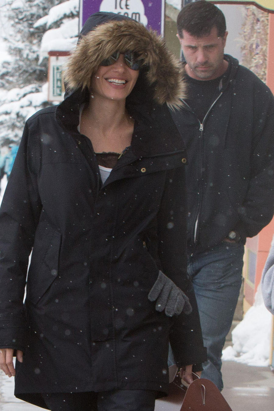 Angelina Jolie y sus hijos en Colorado