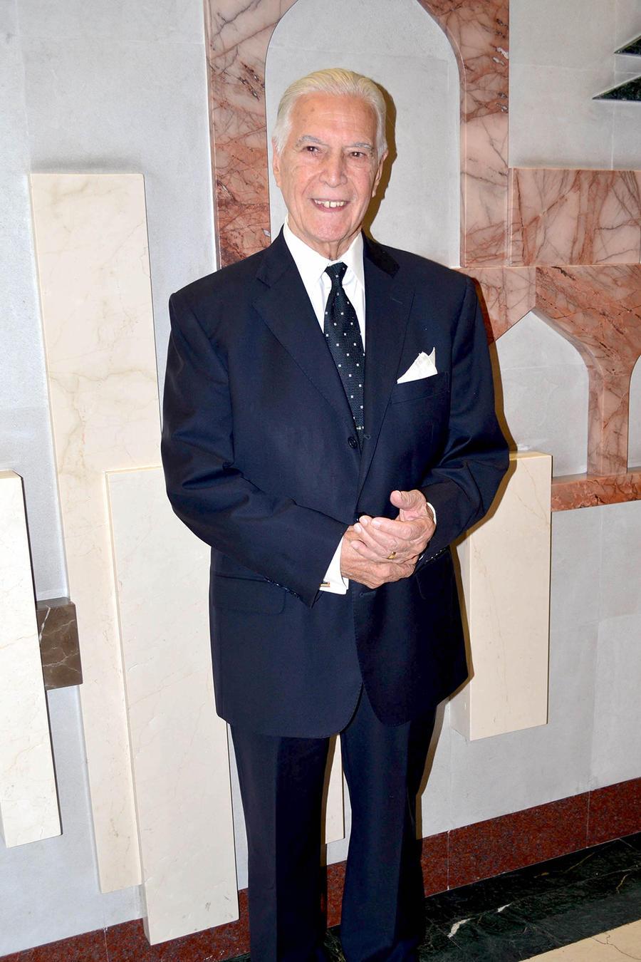 Gustavo Rojo en la entrega de los Premios Bravo, en 2015.