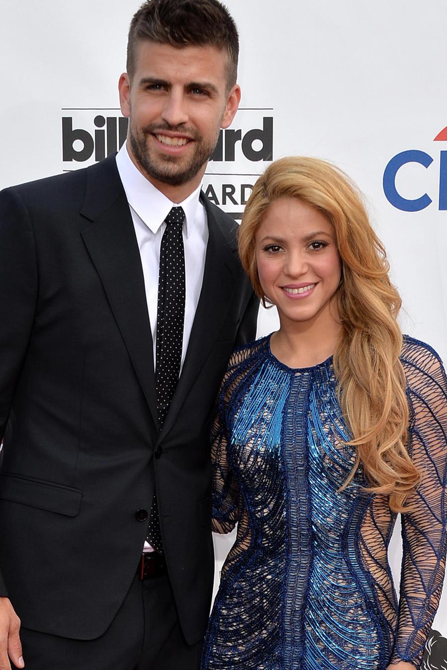 Shakira y Piqué en los Billboard Music Awards de 2014.