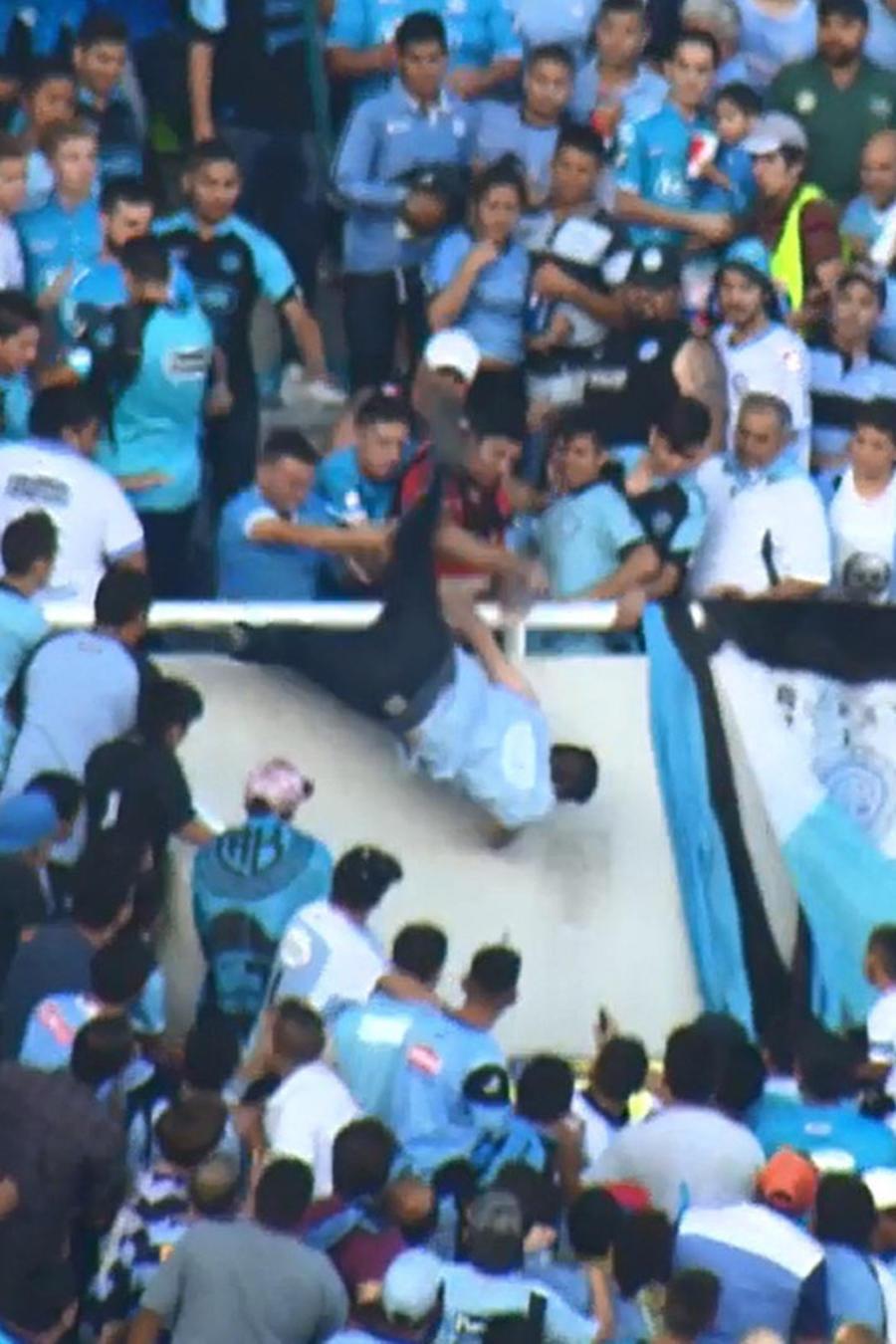 violencia partido en cordoba argentina