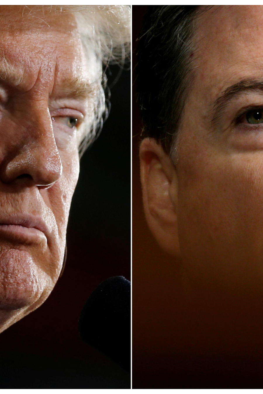 Trump y Comey