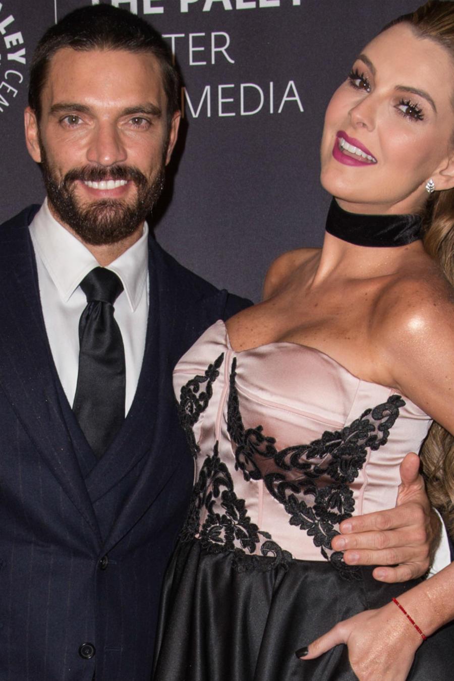 Marjorie de Sousa y Julian Gil en octubre de 2016.