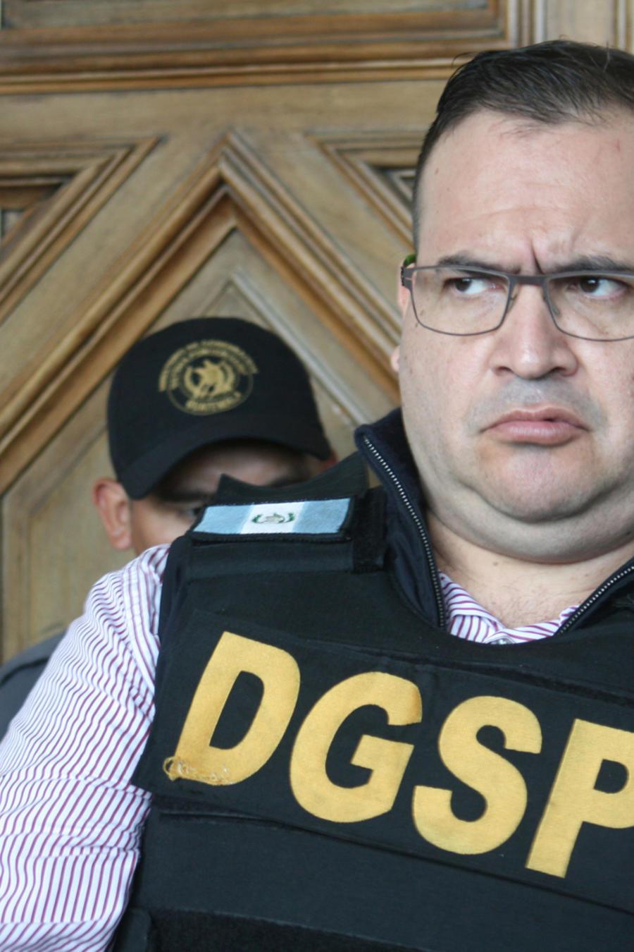 Guatemala extradita a México al exgobernador Javier Duarte
