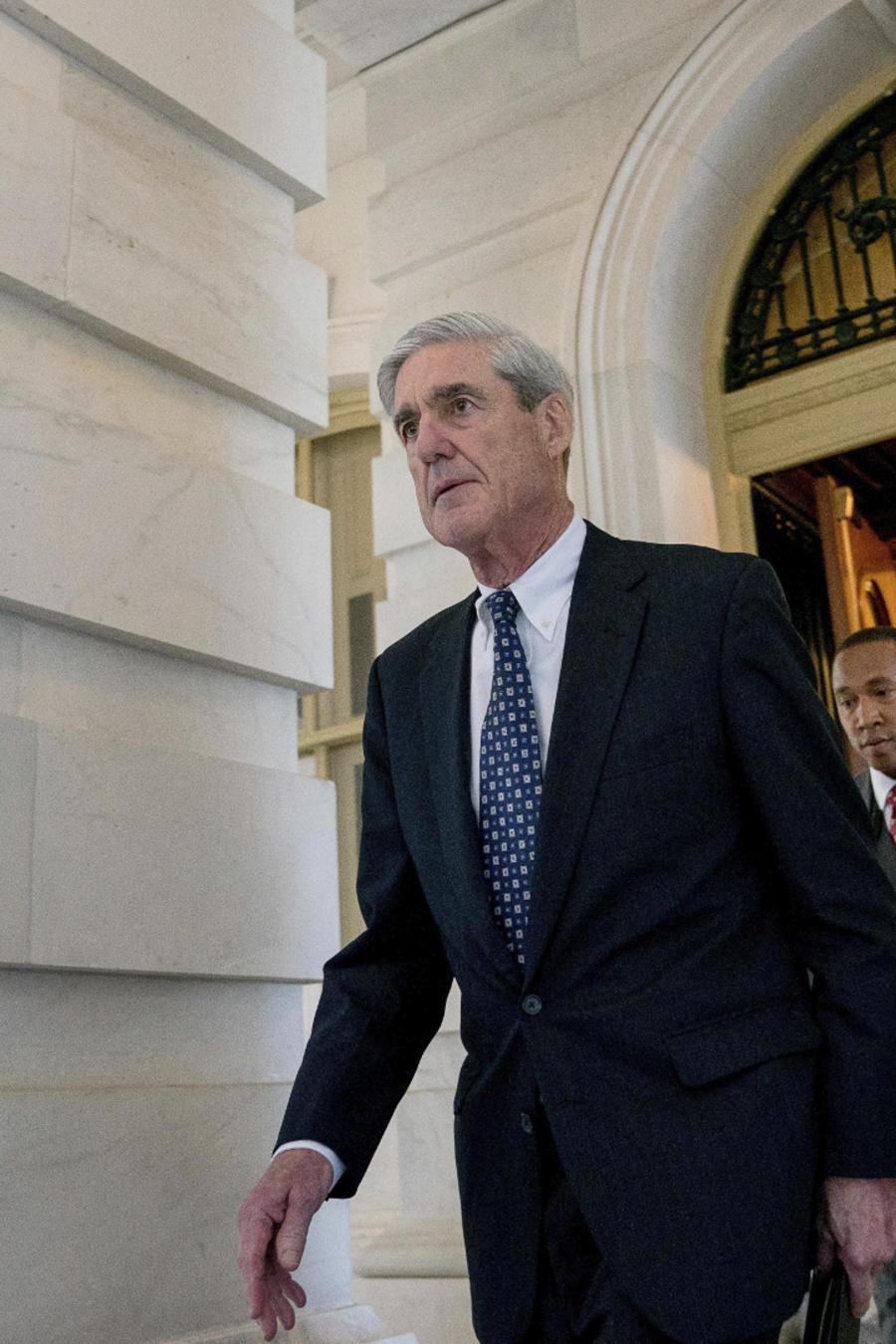 Robert Mueller, fiscal especial en la investigación sobre la injerencia rusa en las elecciones