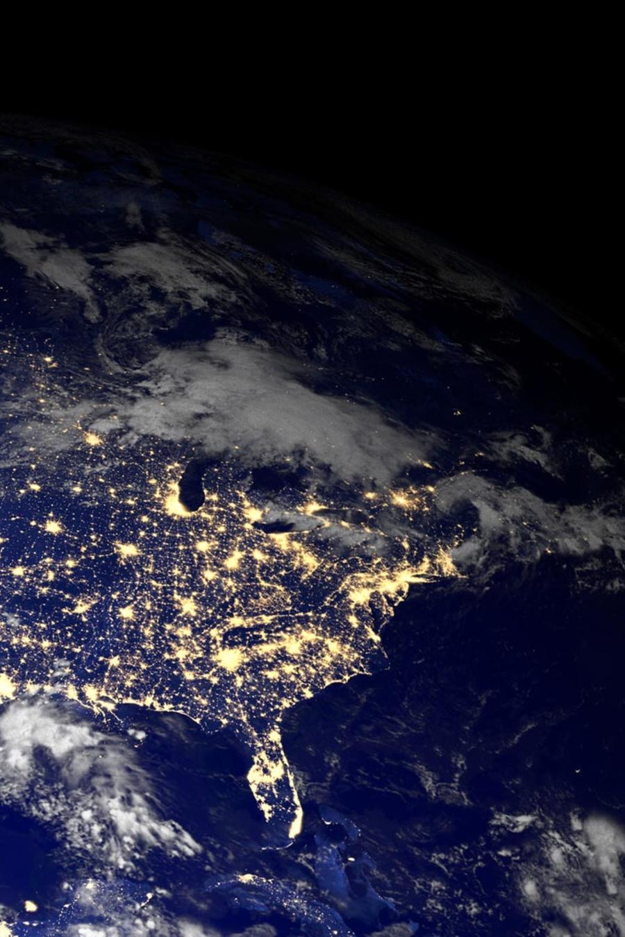 Ciudades desde el espacio