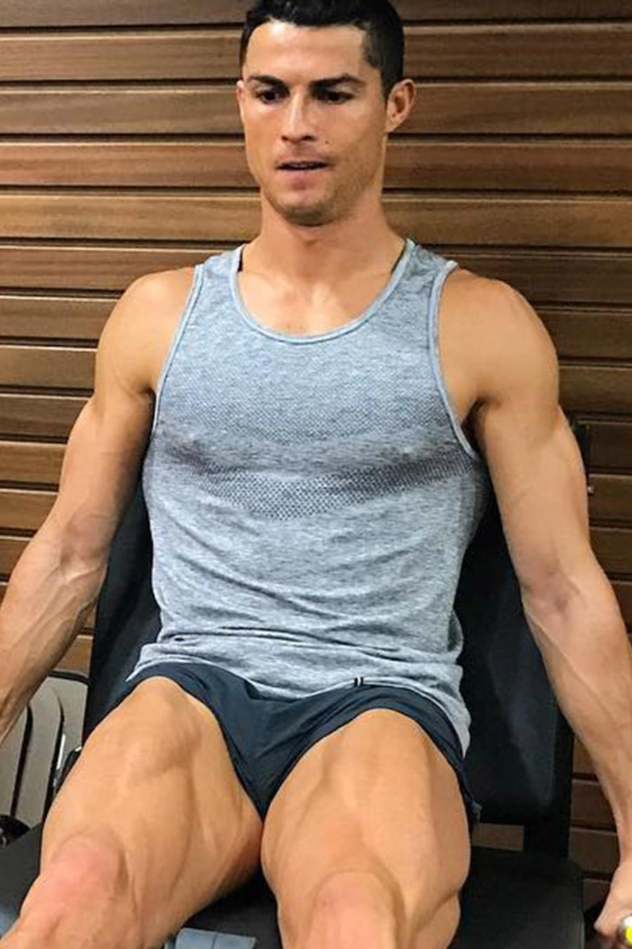 Cristiano Ronaldo lección hijos