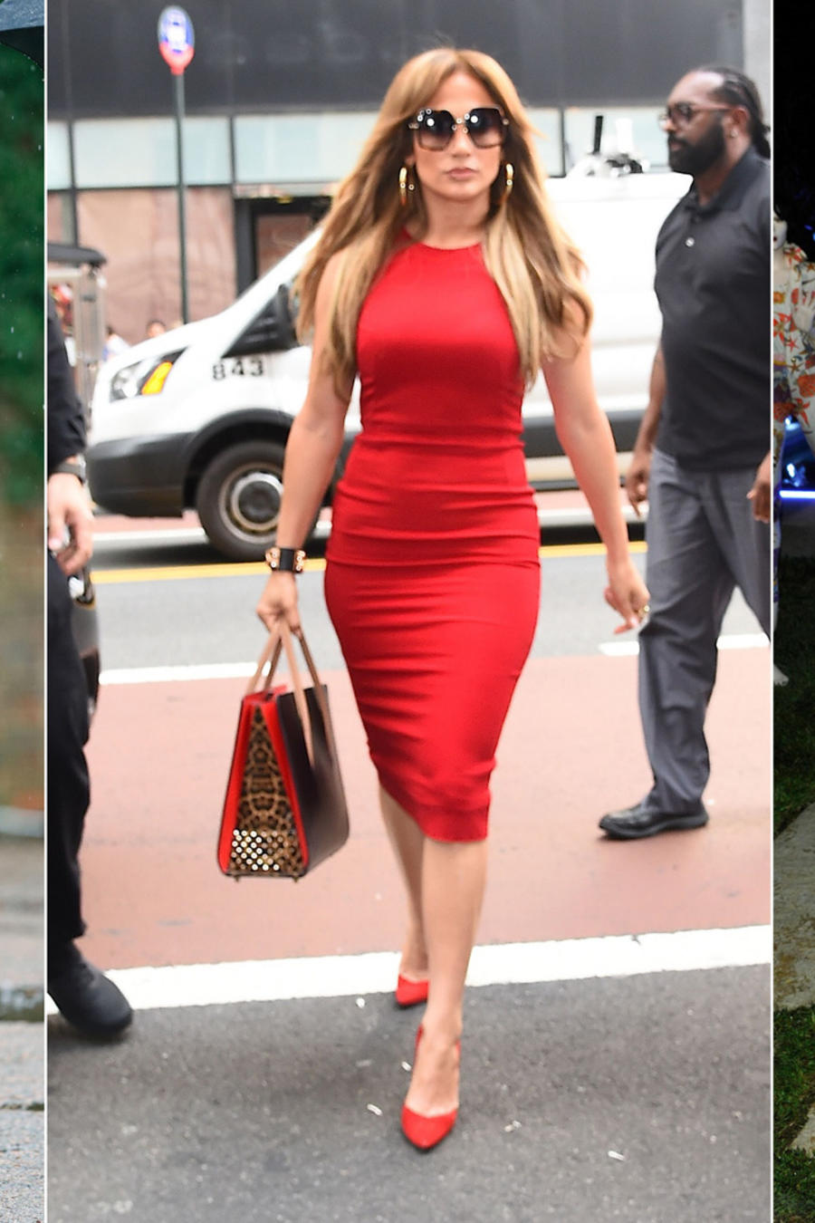 Kate Middleton, Jennifer Lopez y Amal Clooney collage