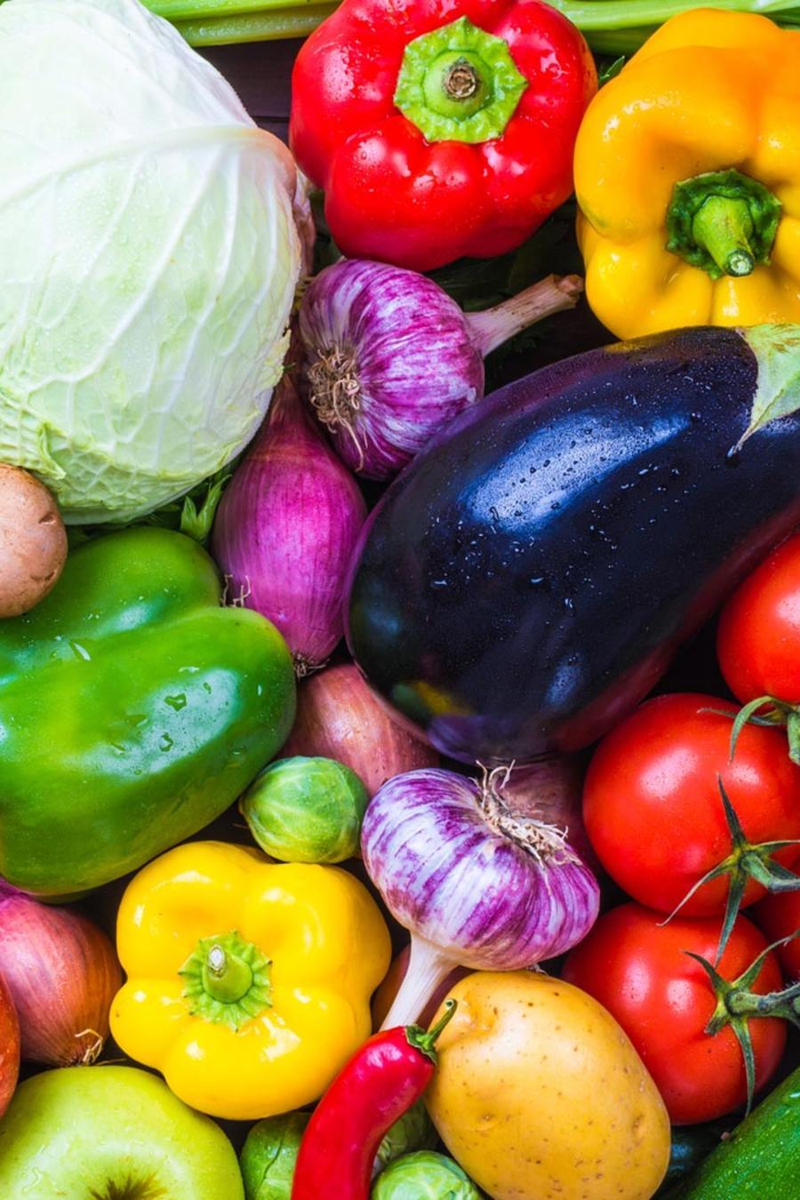 Muchos vegetales