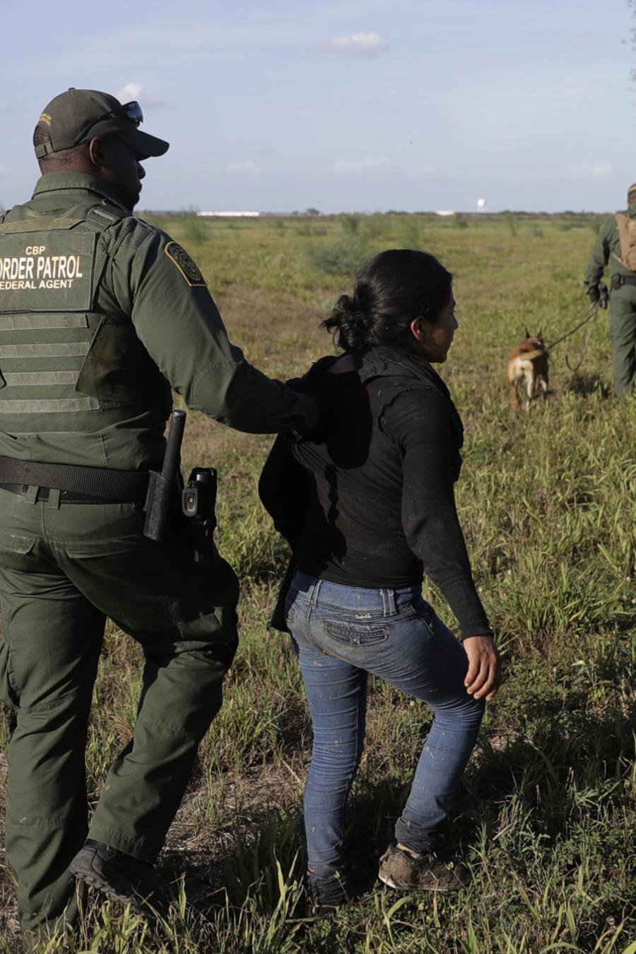 Arresto en la frontera de EEUU