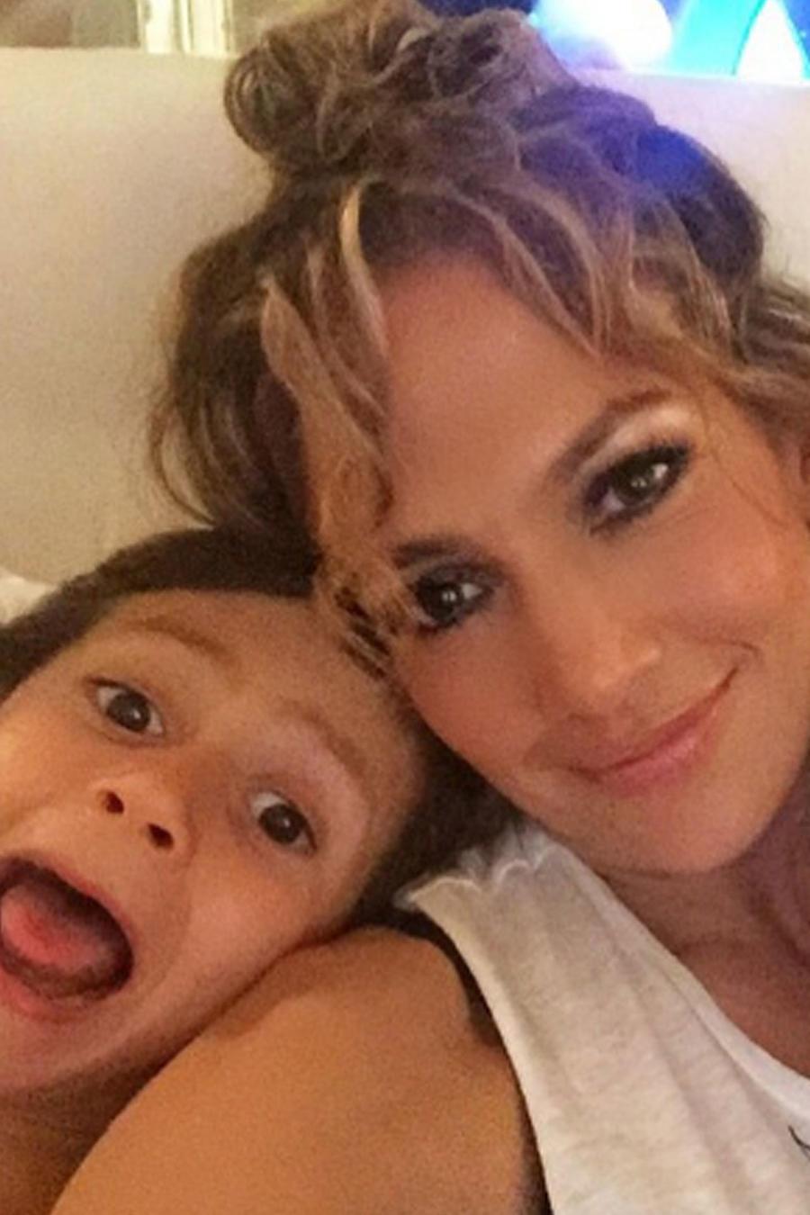 Jennifer Lopez e hijos