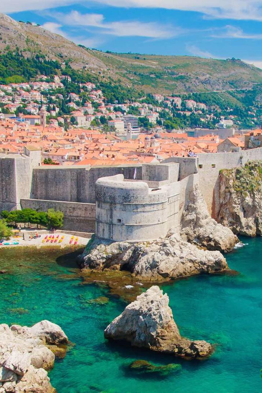 Muralla de Dubrovnik, Croacia