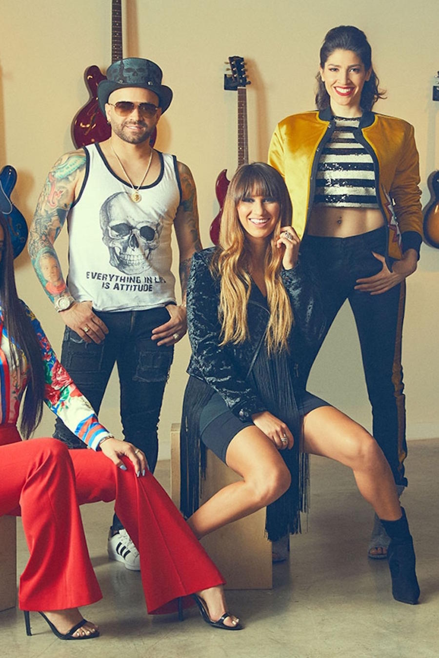 Victoria La Mala, Nacho, Ha*Ash, and CNCO