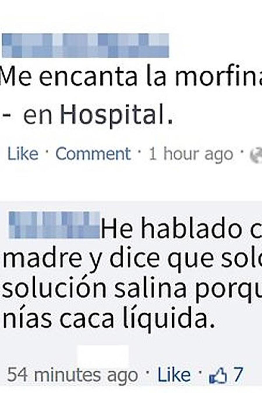 Exceso de morfina