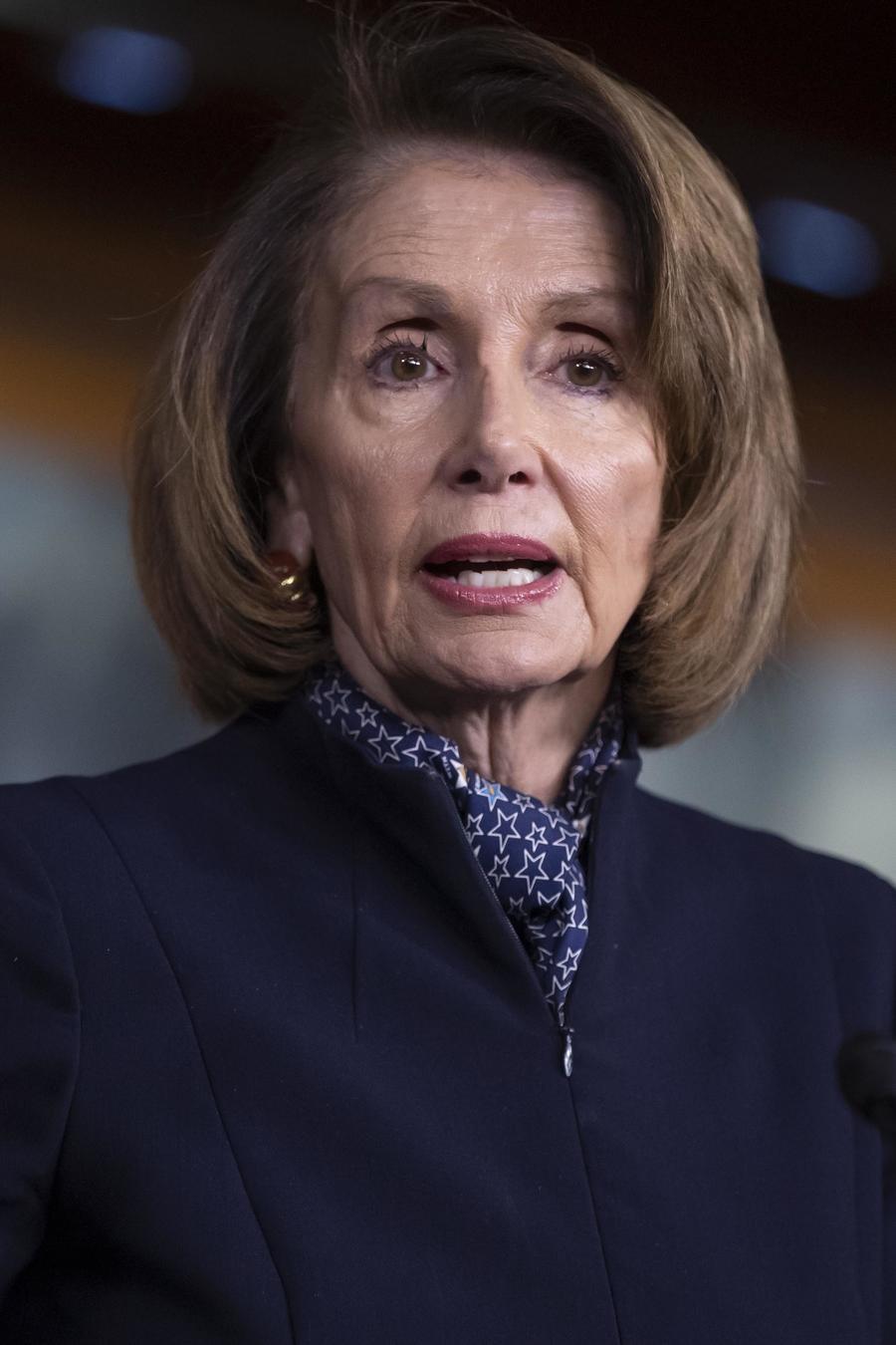 Foto de archivo de la líder demócrata Nancy Pelosi en el Capitolio en diciembre del 2018