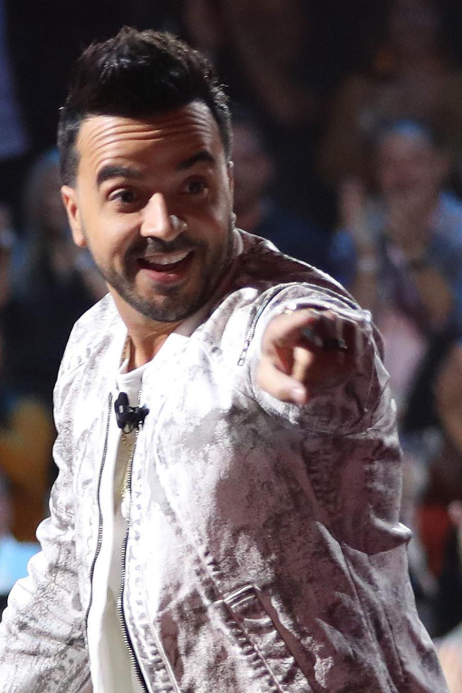 Luis Fonsi en La Voz en Miami en 2019