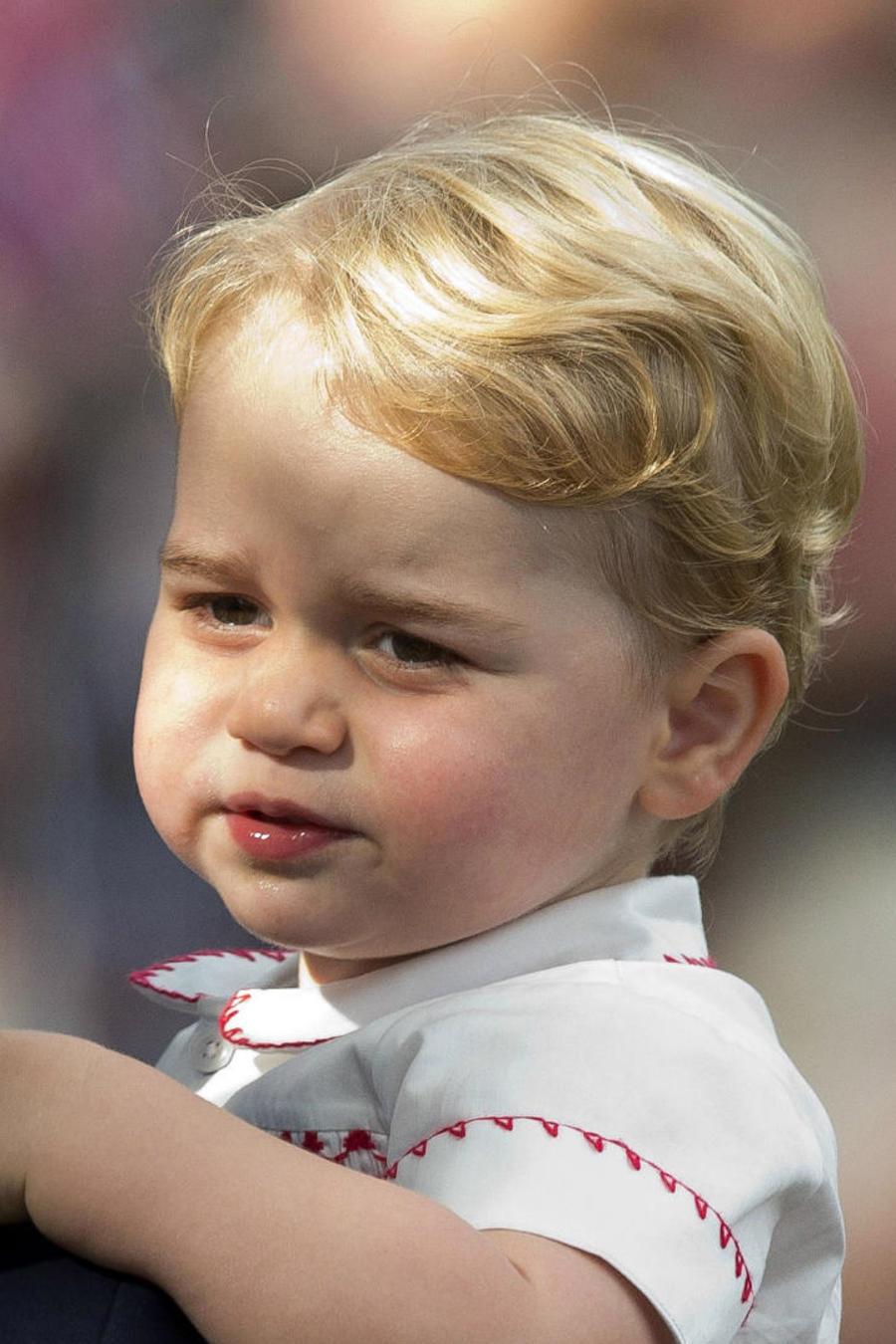 Príncipe George de bebé