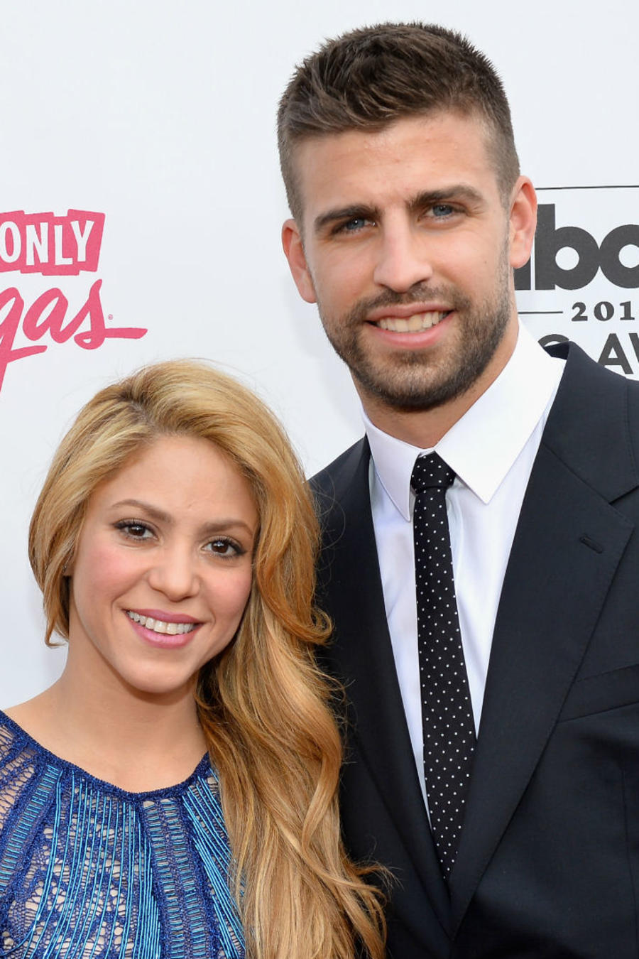 Shakira y Gerard Piqué en Billboard Music Awards 2014