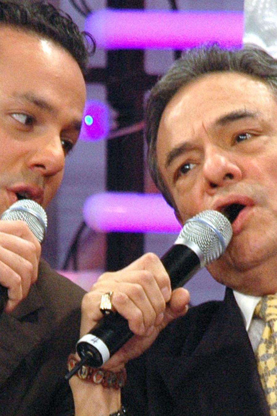 José José se reunió con su hijo José Joel en 2009