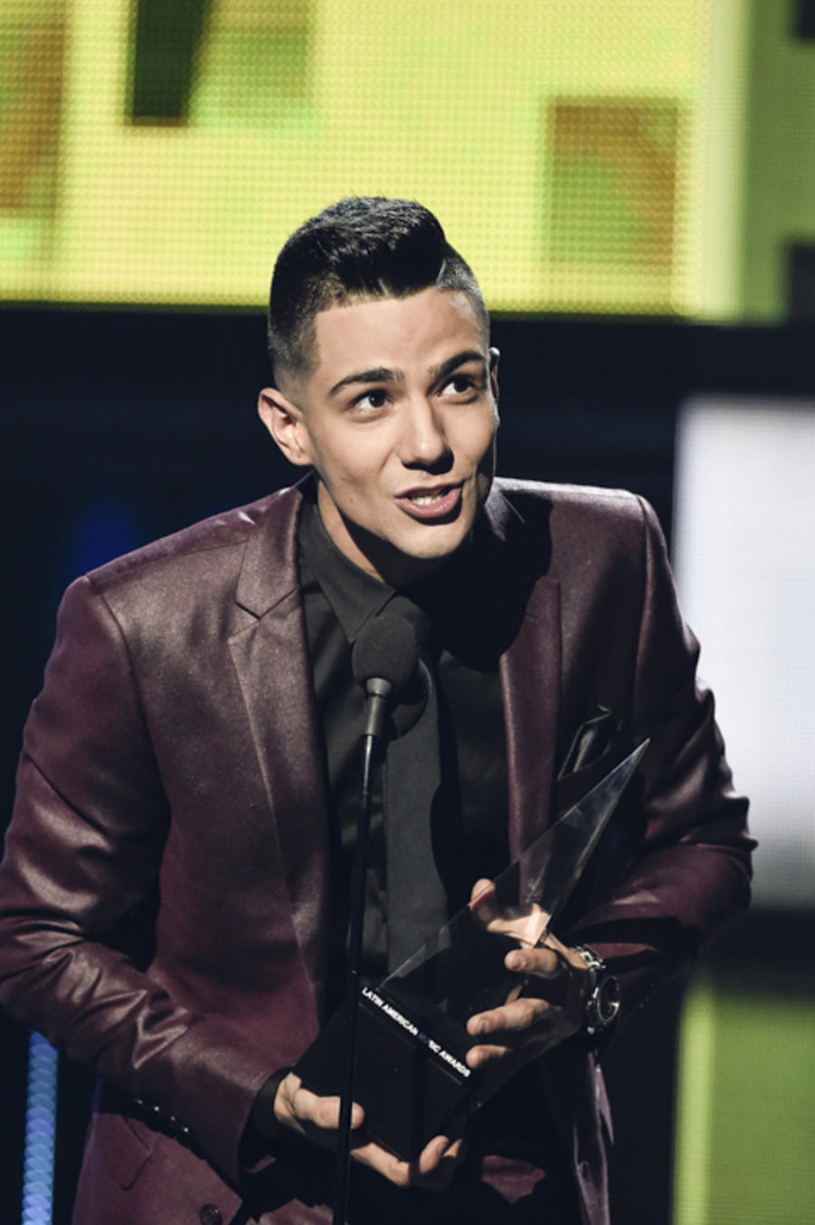 Luis Coronel at the Latin American Music Awards 2015