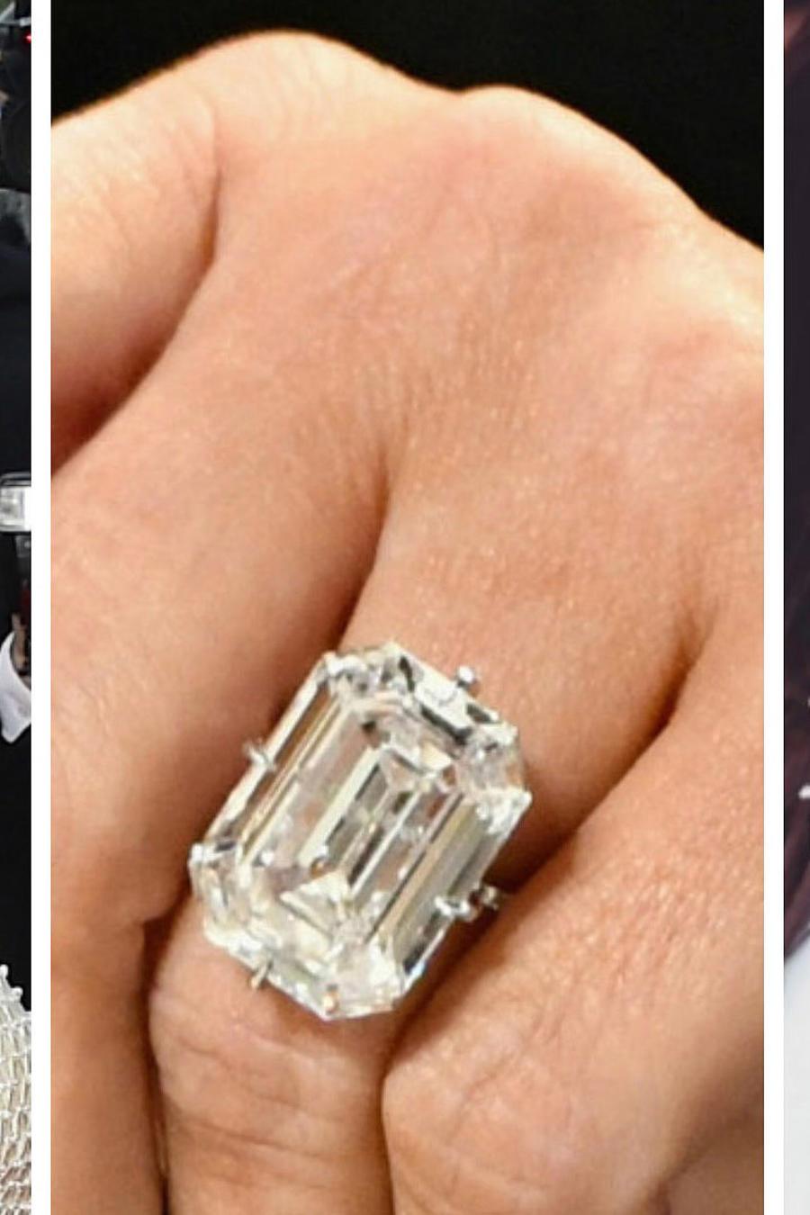 Eva Longoria, anillo y Kim Kardashian