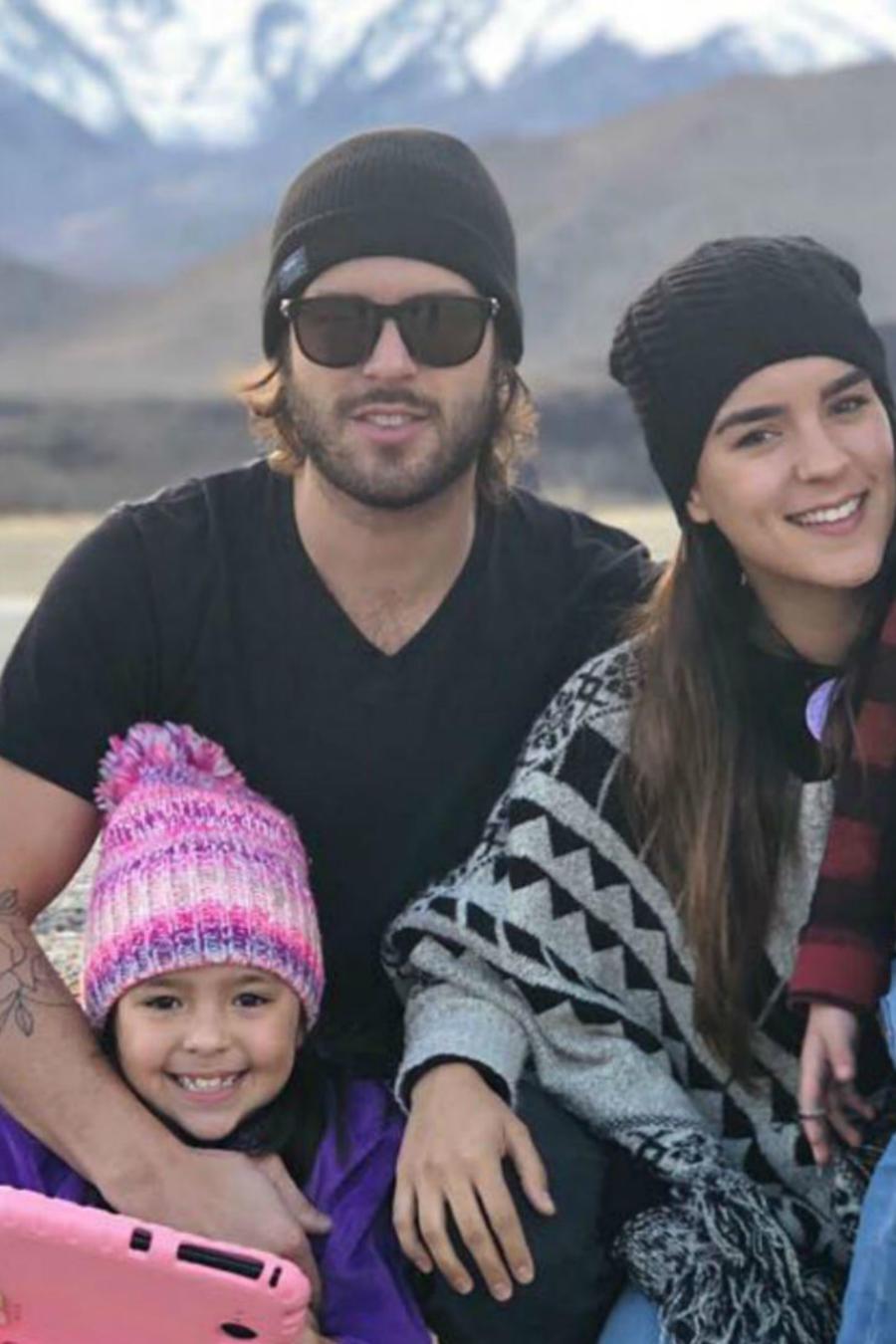 Hijos y esposa de Pablo Lyle