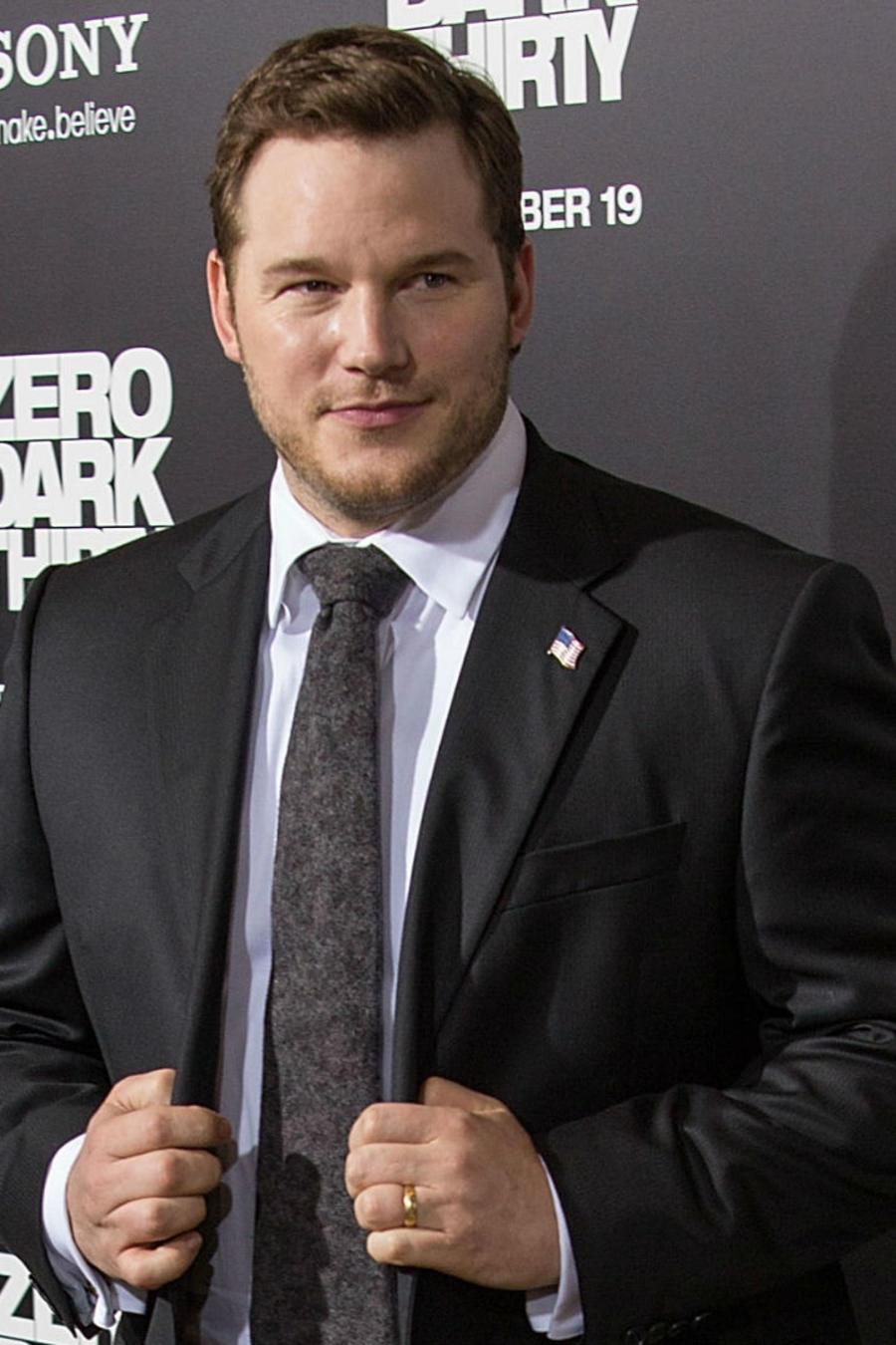 Chris Pratt estreno de Zero Dark Thirty