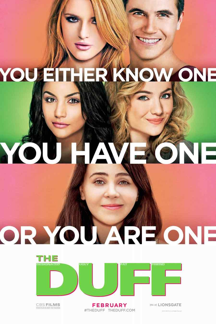 The DUFF póster