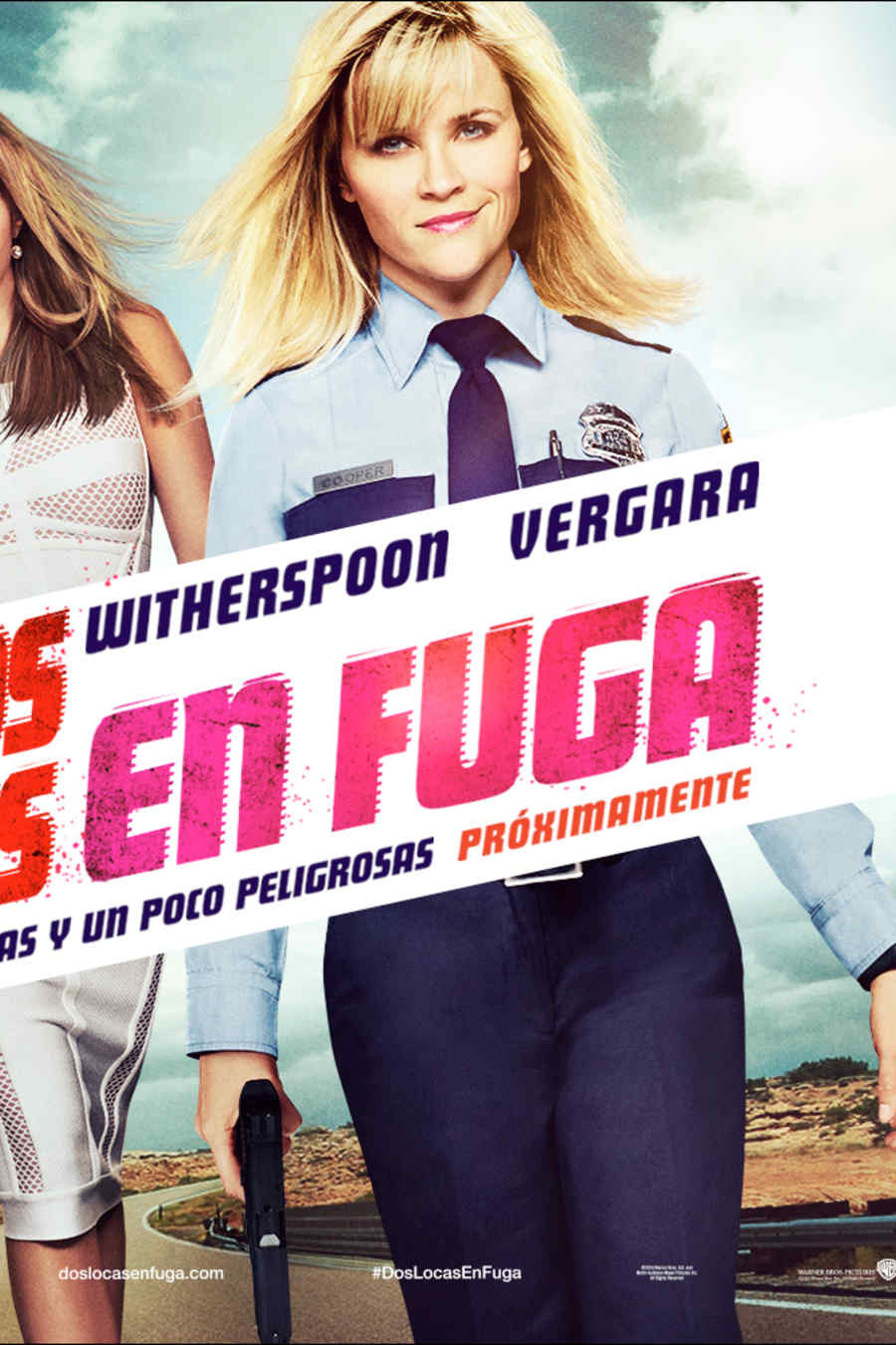 "Póster de ""Hot Pursuit""."