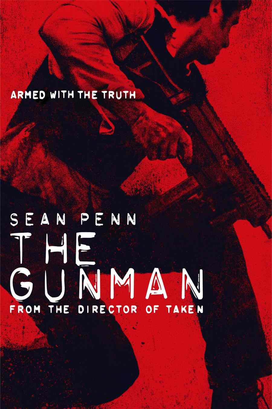 "Póster de la película ""The Gunman""."