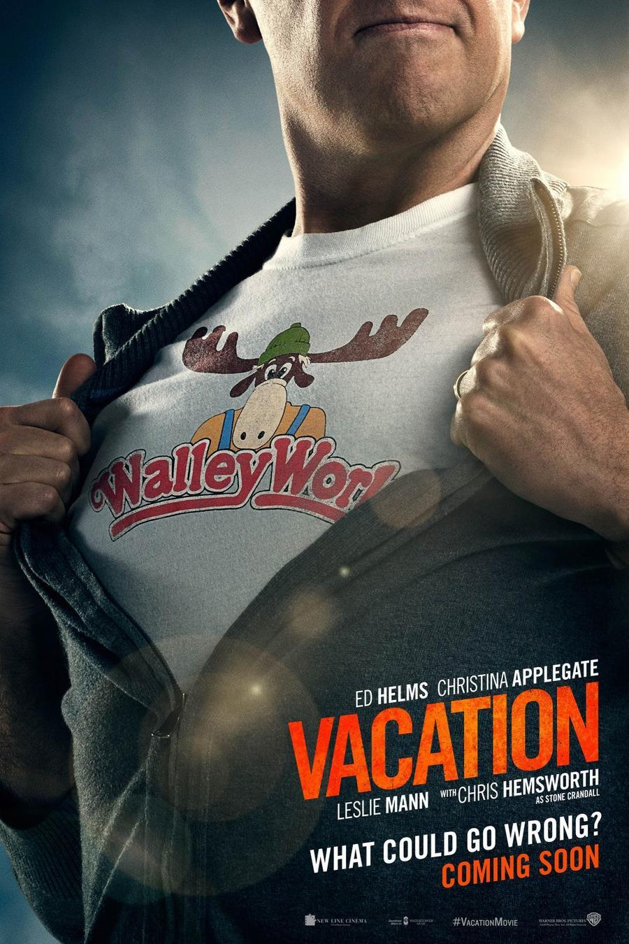 """Póster de la película """"Vacation""""."""