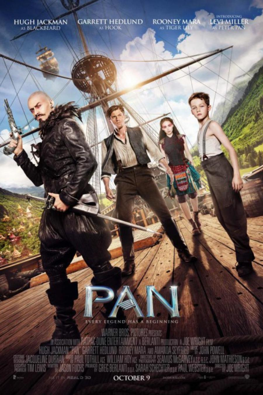 "Póster de la película ""Pan""."