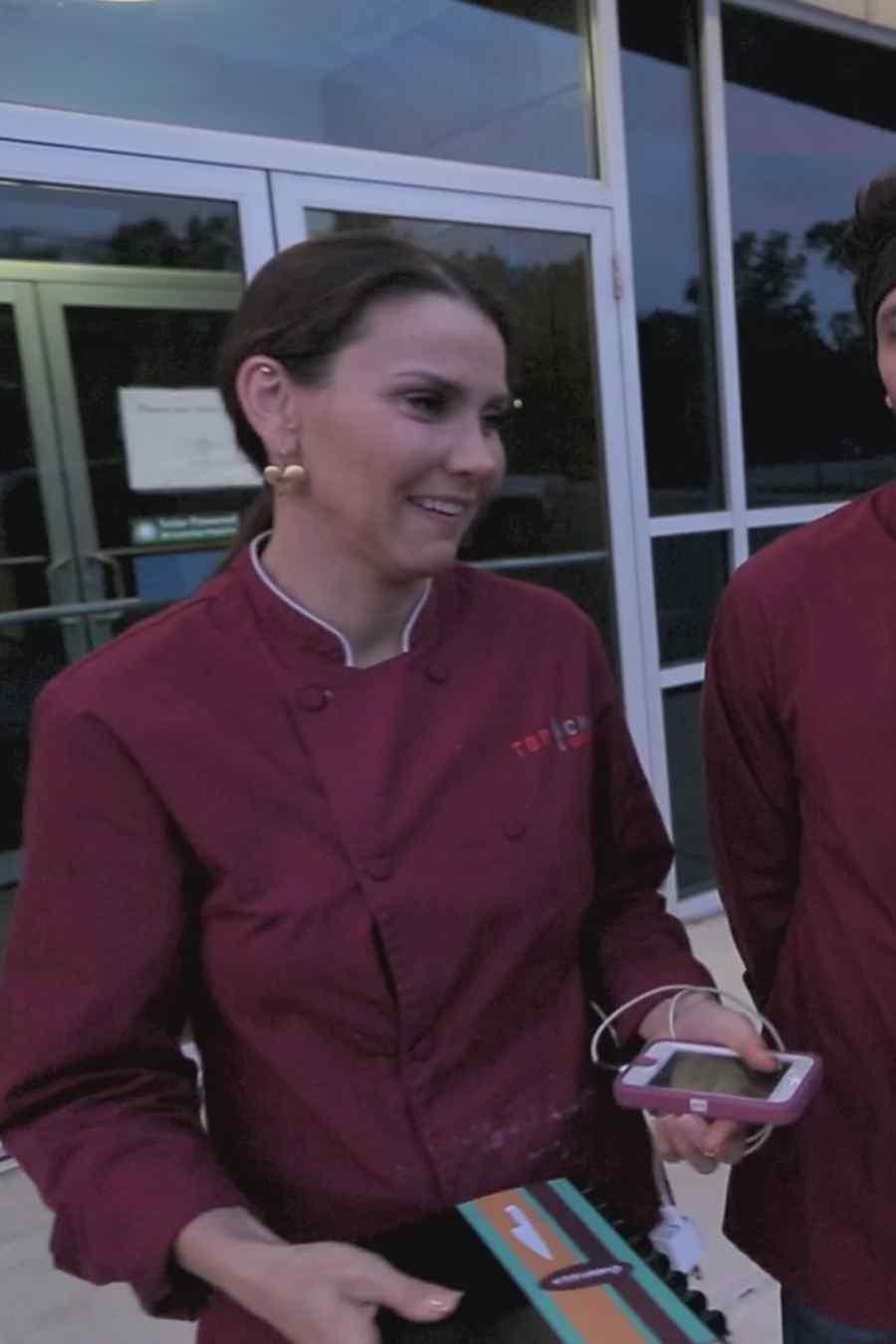 Gabriela Vergara, Gabriel Coronel y Judith Grace en Top Chef Estrellas