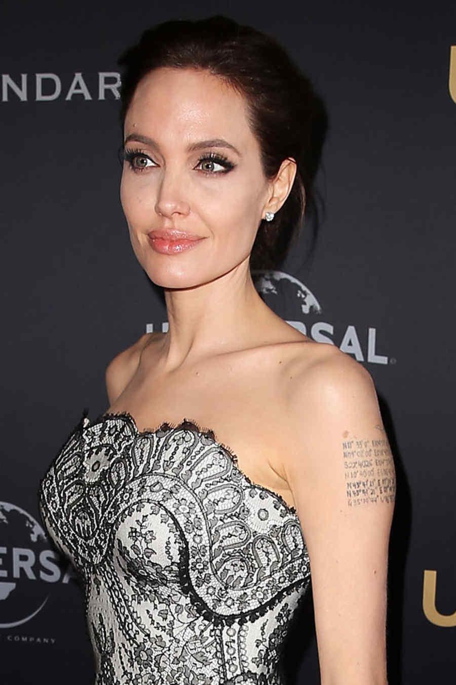 Angelina Jolie en el estreno de la película 'Unbroken'