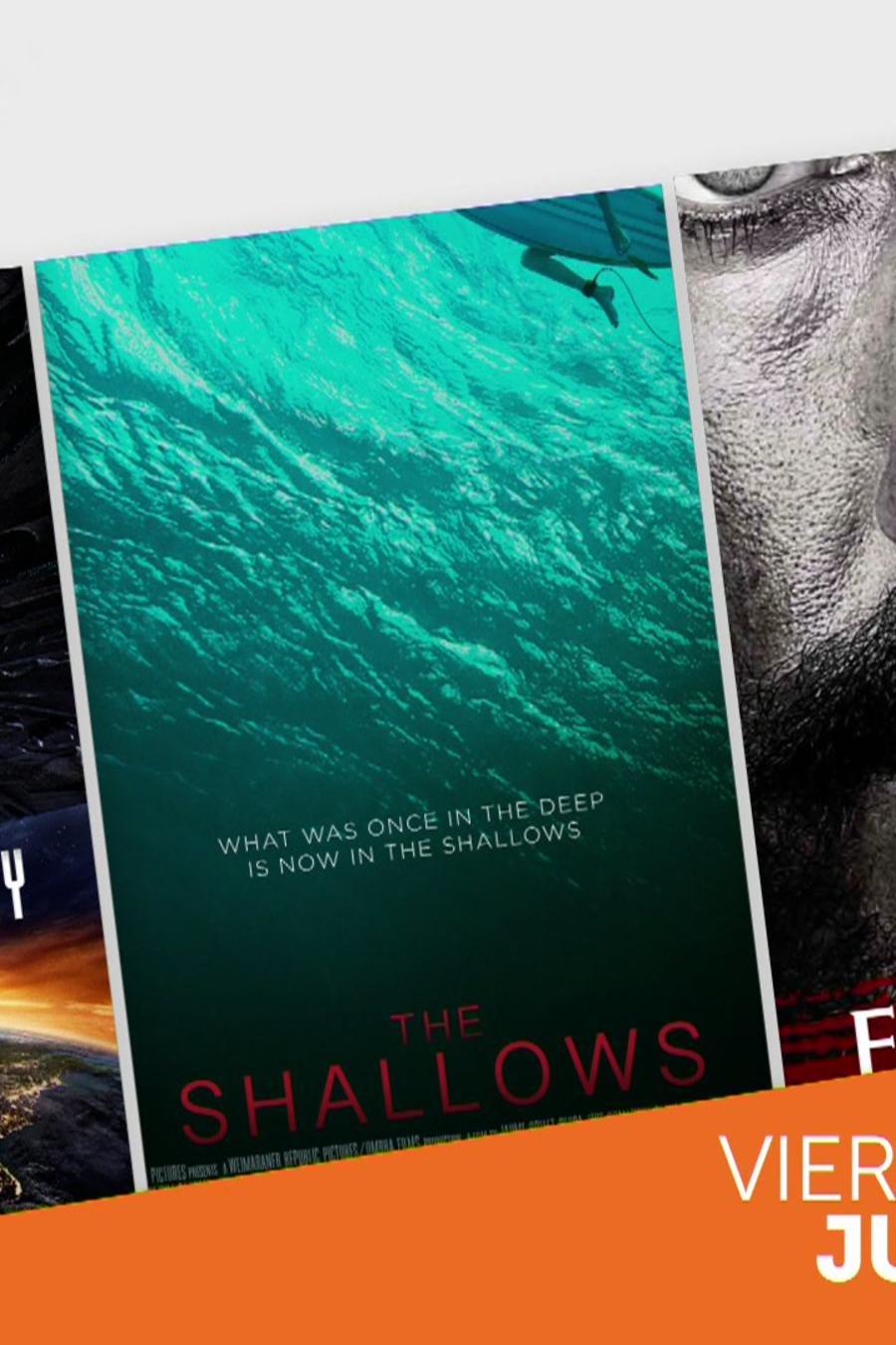 """""""Independence Day: Resurgence"""" y """"The Shallows"""": los mejores estrenos de la semana"""